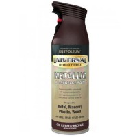 Rust-Oleum Universal All-Surface Spray Paint Oil Rubbed Bronze Metallic 400ml