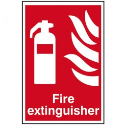 Scan Fire Extinguisher Sign 200mm x 300mm