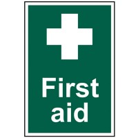 Scan First Aid Safety Sign 300mm x 200mm