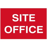Scan Site Office Safety Sign 600mm x 400mm