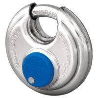 Abus 24IB/60 Diskus Padlock Stainless Steel 60mm Keyed Alike