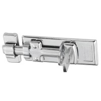 Abus 300/100 Steel Locking Bolt 100mm - for use with Padlocks