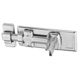 Abus 300/120 Steel Locking Bolt 120mm - for use with Padlocks