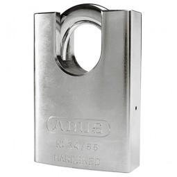 Abus 34/55 Hardened Steel Padlock Close Shackle 55mm