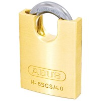 Abus 65/40 Brass Padlock Close Shackle 40mm