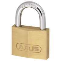 Abus 713/50 Solid Brass Security 50mm Padlock Hardened Shackle