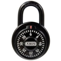 Abus Combination Padlock with Safe-Mechanism and Key Overide Mk507