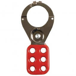 Abus 802 Lock Out Hasp 1.5 Inch Red