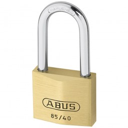 Abus 85/40 Brass Padlock Long Shackle 40mm HB40