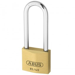 Abus 85/40 Brass Padlock Long Shackle 40mm HB63