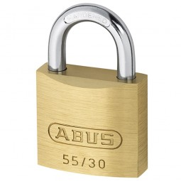 Abus 55/30 Brass Padlock 29mm Keyed Alike