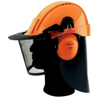 Bahco 5406 Professional Chainsaw Safety Head Protector Helmet