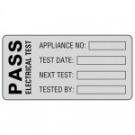 Martindale POLY1 Pat Testing Pass Labels 50mm x 25mm - 500