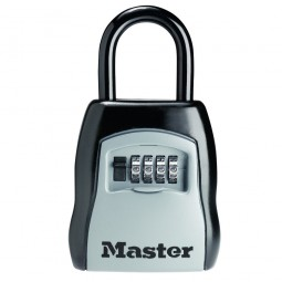 Master Lock Portable Shackled Combination Key Safe Security Storage