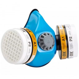 OX Half Mask Twin Dust Filter Respirator