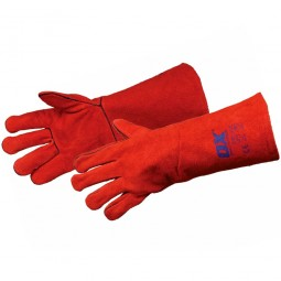 OX Red Welders Gloves - X Large