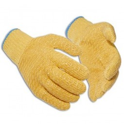 Portwest Yellow Criss Cross Gloves - Large