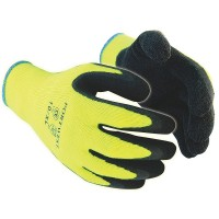 Portwest High Visibility Thermal Grip Gloves - Medium