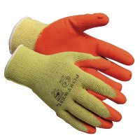 Portwest Rubber Palm Scaffolding Builders Work Gloves - Large