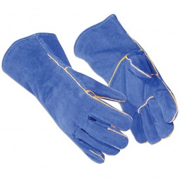 Portwest Welders Gauntlets Leather Protective Gloves - X Large