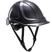 Portwest Endurance Carbon Look Safety Hard Hat Helmet PC55