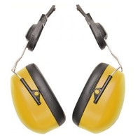 Portwest Ear Defenders For Safety Hard Hats - Yellow