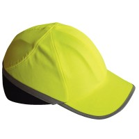 Portwest Hi Vis Safety Bump Cap - Yellow