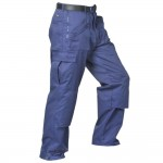 Portwest Action Work Trousers Navy 32W 33L