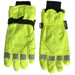 Scan Hi Visibility Gloves Yellow Extra Large