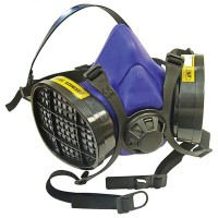 Scan A1 Half Mask Twin Dust Filter Respirator