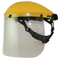 Silverline Clear Safety Face Visor