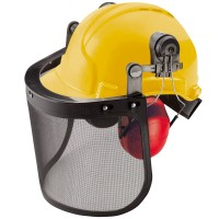 Silverline Forestry and Chainsaw Safety Helmet