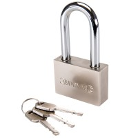 Silverline High Security Long Shackle Padlock 60mm