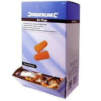 Silverline Ear Plugs 37DB - 200 Pack