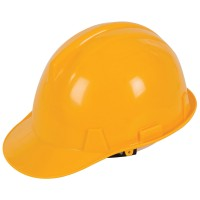 Silverline Safety Hard Hat Yellow - Labourer
