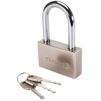 Silverline High Security Long Shackle Padlock 70mm