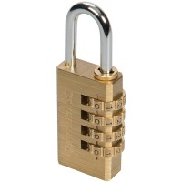 Silverline Combination Padlock 30mm - 4 Digit
