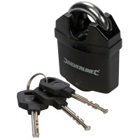 Silverline Close Shackle Padlock 50mm