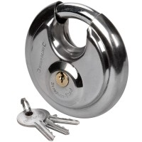 Silverline Disc Padlock 90mm