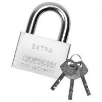 Silverline High Security Padlock 50mm