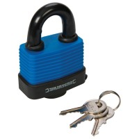 Silverline Weather Resistant Padlock 50mm