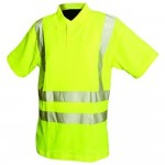 Silverline Hi-Viz Polo Shirt - Medium