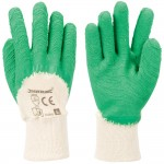 Silverline Fully Coated Latex Gloves - Large
