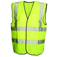 Silverline Hi-Viz Traffic Waistcoat - Extra Large