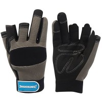 Silverline 3 Finger Framer Safety Gloves - Medium