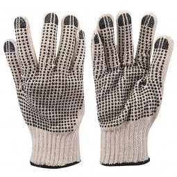 Silverline Double Sided Dot Gloves - Large