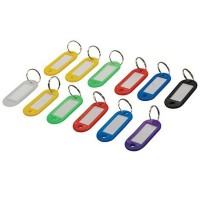 Silverline Master Key Rings - 12 Pack