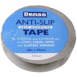 Denso Self Adhesive Anti Slip Tape Clear 50mm x 18m