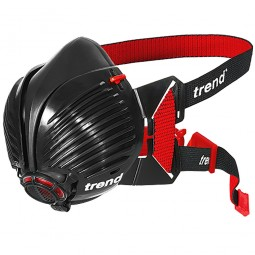 Trend Air Stealth Half Mask Respirator P3 Replaceable Filters HEPAC Small Medium