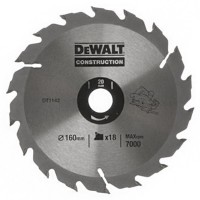 DeWalt DT1142 Series 30 Circular Saw Blade 160mm x 20mm - 18 Teeth